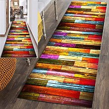 YJRBZ Runner Rug for Hallway, Colorful Stripe