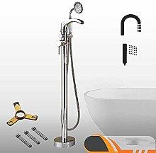 YJRIC Floor faucet Black Bronze Waterfall Bathtub
