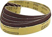 YJRIC Sandpaper Belt 10 pcs 520 * 20mm Abrasive