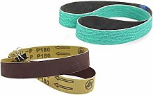 YJRIC Sandpaper Belt 762 * 25mm Sanding Belts 3 *
