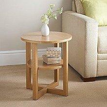 YJYDD Small Table Side End Sofa Bedside Shelf
