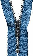 YKK Auto Lock Zip, No. 145 Slate Blue, 18 cm Length