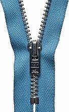 YKK Auto Lock Zip, No. 231 Airforce Blue, 18 cm