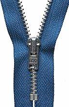 YKK Auto Lock Zip, No. 39 Royal Blue, 23 cm Length
