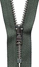 YKK Auto Lock Zip, No. 567 Spruce Green, 20 cm