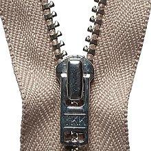 YKK Auto Lock Zip, No. 573 Fawn, 20 cm Length