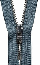 YKK Auto Lock Zip, No. 578 Dark Grey, 18 cm Length