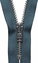 YKK Auto Lock Zip, No. 579 Charcoal, 20 cm Length
