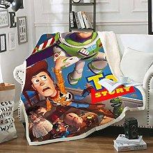 YKOUT 150X200Cm Toy Story Sherif Woody Buzz