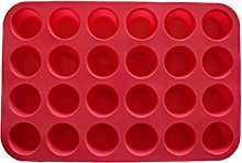 YKPBGQ DIY Cake Molds Round Muffin Cup Silicone