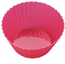 YKPBGQ DIY Cake Molds Silicone Muffin Cup Round