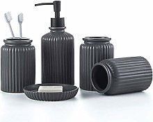 YLCJ 5 piece durable bathroom accessory set,