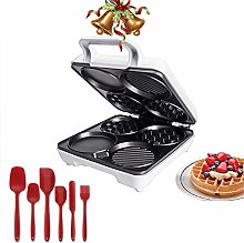 YLGAN Double Waffle Maker with 1000 W of Power