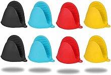 Ylinwtech Silicone Pot Holder Mini Oven Mitt, 4
