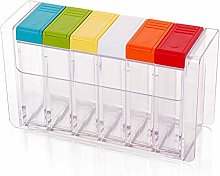 YLJB Spice Rack Kitchenware Transparent Plastic
