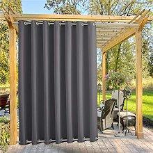 YLJXXY Outdoor Curtain Waterproof Patio Curtains