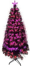 YLJYJ Artificial Light Fiber Christmas Tree with
