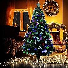 YLJYJ Fiber Optic Christmas Tree with Multicolored