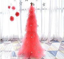 YLJYJ Pre-bed Christmas Tree,Pink Tree