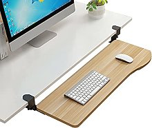 YLKCU Large Keyboard Tray Under Desk Pull Out with