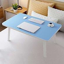 YLMF Foldable Lap Standing Desk, Laptop Desk with