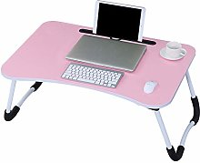 YLMF Lap Desk, Laptop Desk with Foldable Legs,