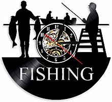 yltian Go fishing sign pole fish hook fisherman