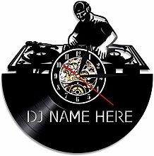 yltian Personalized DJ Name Vinyl LP Record Wall