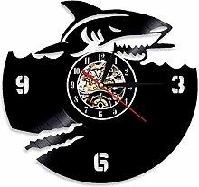 yltian Scary Shark Jaws Wall Art Vinyl Record