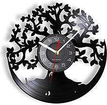 yltian Tree of Life Kitchen Wall Clock Silent