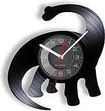yltian Vinyl Record Wall Clock Home Decor Clock