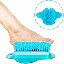 YLX Shower Foot Scrubber with Hanging Hooks, Foot