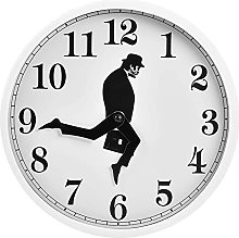 YLYL Ministry Of Silly Walks Wall Clock Novelty