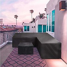 YLYP Outdoor Garden Rattan Corner Furniture Cover,