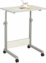 YLYWCG Side Table Days Overbed Table, Height