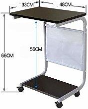 YLYWCG Side Table Laptop Desk Bedside Table Simple