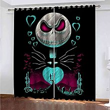YLZXFY Blackout Curtains for Bedroom Halloween