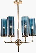 YMBLS Sputnik Chandelier Lighting,Glass