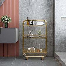 YMFZYM 3-Tier Kitchen Storage Trolley, Mobile