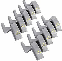 Ymiko Hinge LED Sensor Light, Universal Cabinet
