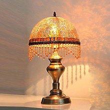 YMLSD Desk Lamps,European Glass Table Lights