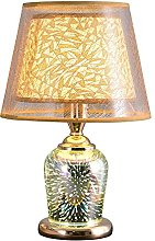YMLSD Fashion 3D Crystal Lamp, Desk Lamp,