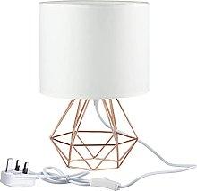YMLSD Modern Desk Lamp, Bedside Table Lamp, Shade