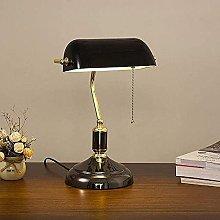 YMLSD Table Lamps,Bankers Lamp Retro Desk Light