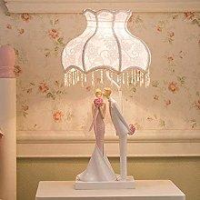 YMLSD Table Lamps,Creative, Romantic, Bride