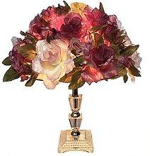 YMLSD Table Lamps,Creative, Romantic Led Desk Lamp