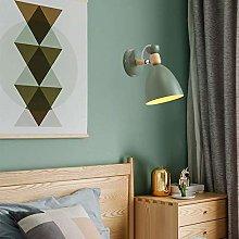 YMLSD Wall Lamps,Modern Metal Wall Lamp Wooden