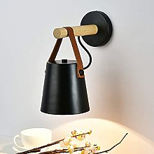 YMLSD Wall Lamps,Wall Light Sconce Modern Wooden