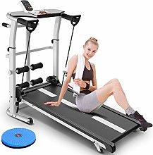 YMN Folding Mechanical Treadmill, Multi-function