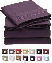 YMOMG 400 Thread Cotton Ivory Sheets Set Super